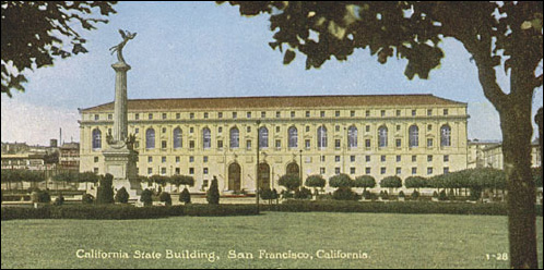 The Home of the California Supreme Court, c. 1930s