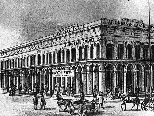 Jansen Building, 4th & J Streets, Sacramento (1857-1859)