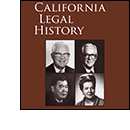 California Legal History 2011