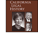 California Legal History 2012