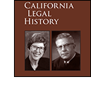 California Legal History 2013